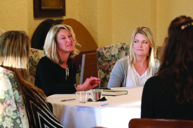 Christina Schwarz, left, and AshLeigh Brown, right. Photo courtesy of Mount Mary University